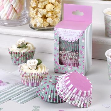 Frills & Spills Cake Cases - pack of 100